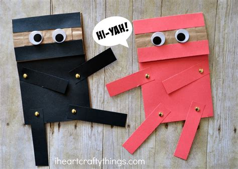 Paper Bag Crafts For - paper bag craft for hi yah i crafty