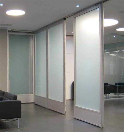 Glass Partition Walls For Home | movable glass doors glass wall hufcor work student