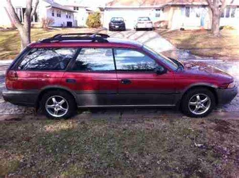 1995 subaru outback sell used 1995 awd subaru legacy l outback wagon 2 2l 4