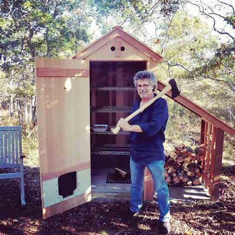 backyard smokehouse diy backyard smokehouse diy mother earth news