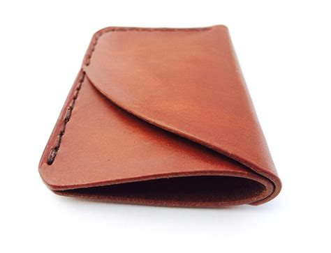 Leather Wallet Handmade - 3 pocket wallet by larsen ross
