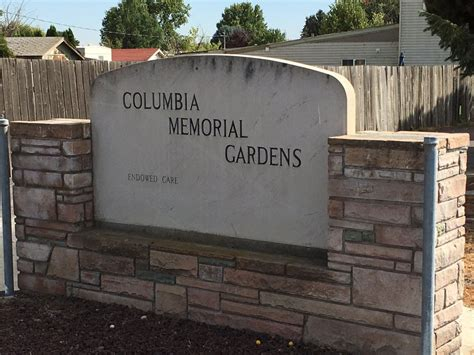 columbia memorial funeral chapel gardens in pasco