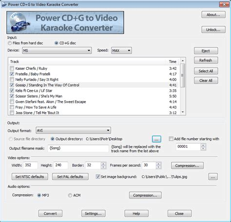 karaoke format converter online power cd g to video karaoke converter convert cd g discs
