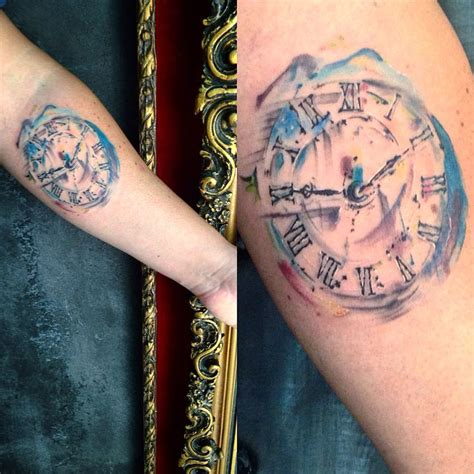 watercolor tattoo watch collection of 25 watercolor on wrist