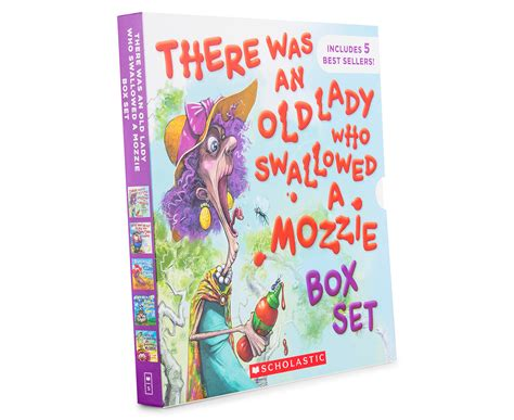 Baby S Busy Day Box Set there was an who swallowed a mozzie 5 book box