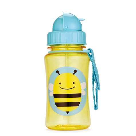 Skiphop Vapur Water Bottle skip hop zoo straw water bottle bee pupsik singapore
