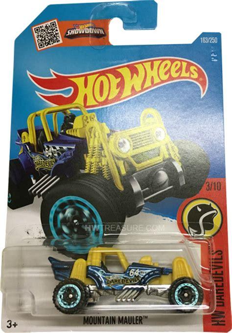 Hotwheels Hotwheel Mountain Mauler mountain mauler wheels 2016 treasure hunt hwtreasure