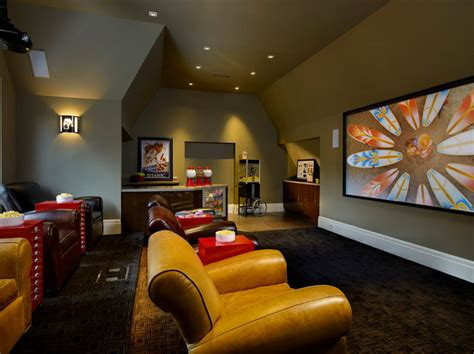birmingham showhome contemporary home theater detroit by dominick tringali architects