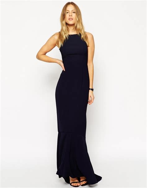 Maxi Vera Navy dress for the wedding dresses for wedding guests brides