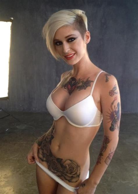 beautiful models and the o jays on pinterest the beautiful kleio valentien my favorite tattoo girls