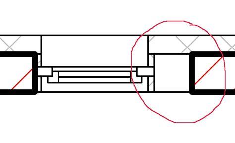 Fenster Im Grundriss by Fensterdarstellung In Grundriss Autodesk Autocad Revit