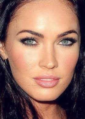 megan foxs makeup how to get her skin bold lip exact look name best eyebrows for oval face shape jpg views 3806