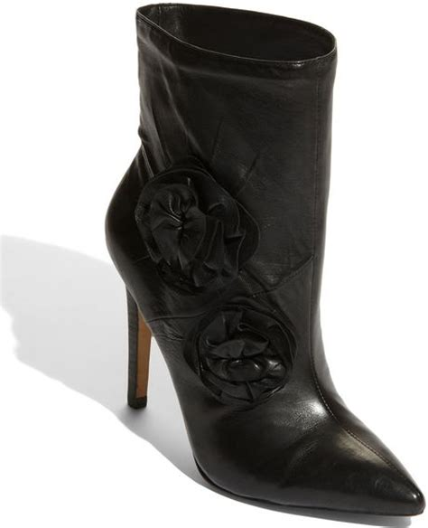 vince camuto raes ankle boot in black lyst