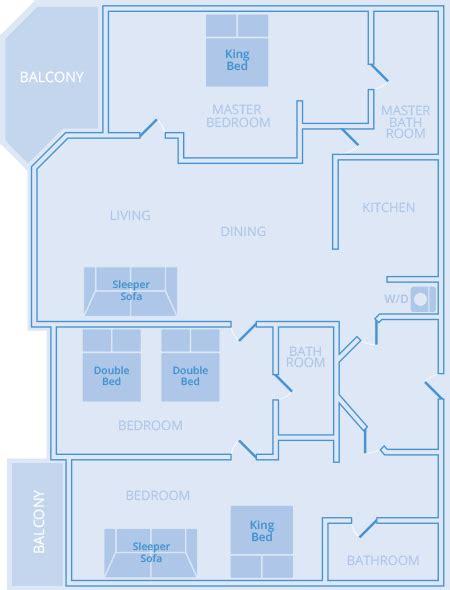 marriott grande vista 3 bedroom floor plan marriott grande vista 3 bedroom floor plan best free home design idea inspiration