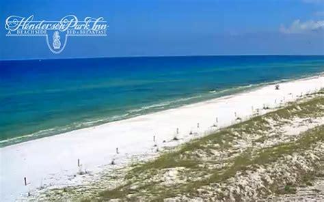 live beach cam destin florida henderson park inn beach webcam webcams