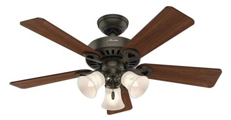 44 quot bronze brown ceiling fan ridgefield 51071 hunter fan