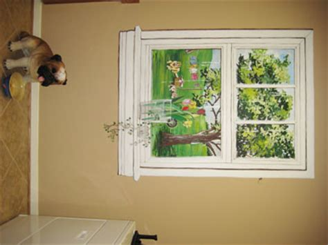 faux window painting america s next top model home cycle 2 house