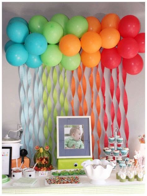 Toddler Birthday Decoration Ideas by 25 Unique Birthday Decorations Ideas On