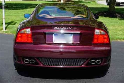 maserati maroon maserati gran sport maroon 2006 this with only 30k