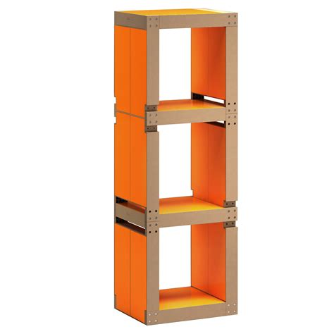 etagere bureau design etag 232 re de bureau design orange structure ou bois
