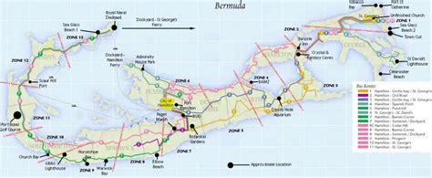 printable road map of bermuda map of bermuda cruise critic message board forums