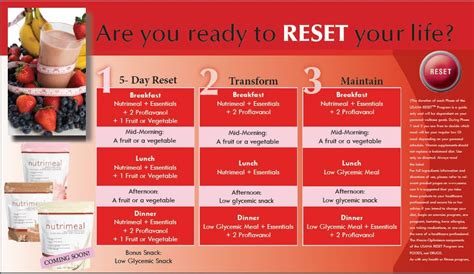 Usana Detox Plan by Starting The 5 Day Reset In 2 Weeks Anyone Else Want To