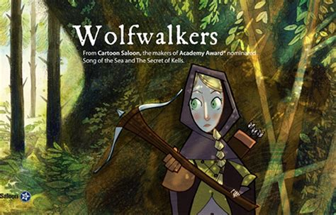 film cartoon song wolfwalkers first pics of new film from song of the sea