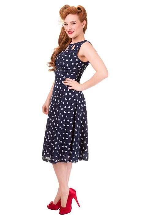 vintage navy songbird banned dress 1940s dresses visit