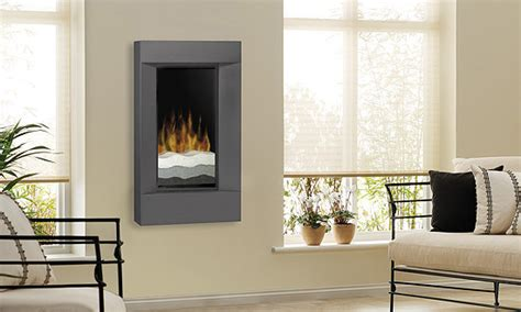 electric fireplace wall mount modern dimplex 24 inch beveled black wall mounted electric