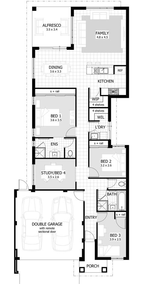 shallow house plans wohndesign exquisit 5 bedroom house plans floor plan one