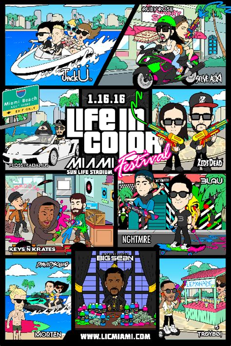 in color line up in color festival announces 2016 lineup u big