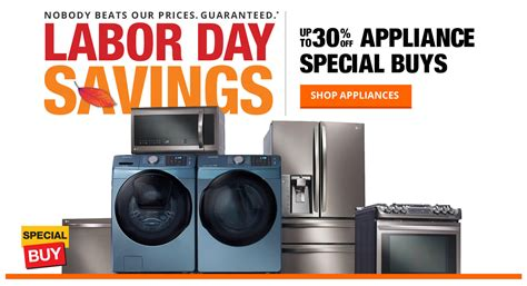 home depot 2016 labor day deals