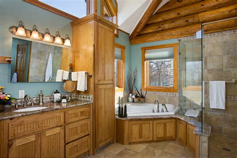 log home bathrooms log home photos bedrooms bathrooms expedition log