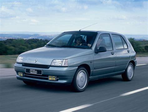 renault one renault clio 5 doors specs 1990 1991 1992 1993 1994