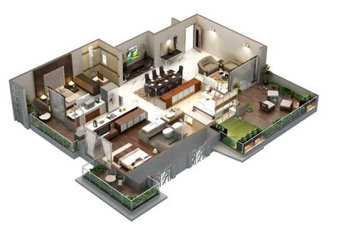 home design 3d 2 bhk hubtown sunstone bandra e mumbai