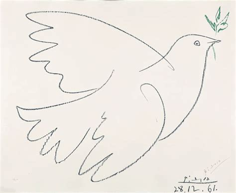 picasso paintings dove blue dove the olive source