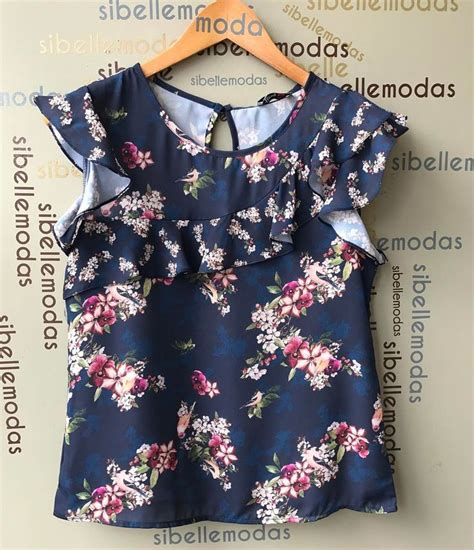 Baju Tunik Crepe Printing Des blusa crepe print flower r 125 90 tam p 38 m 40 compras pelo site www sibellemodas br