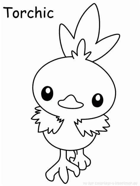 pokemon coloring pages torchic coloriage 195 imprimer pokemon kyurem