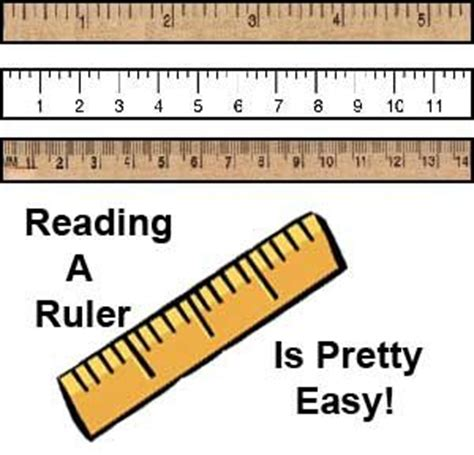 printable easy read ruler how to read a ruler remember this pinterest