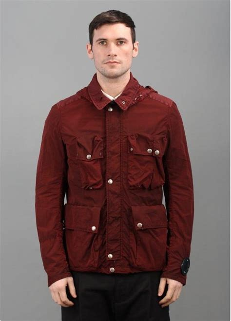 cp company outerwear jacket strawberry
