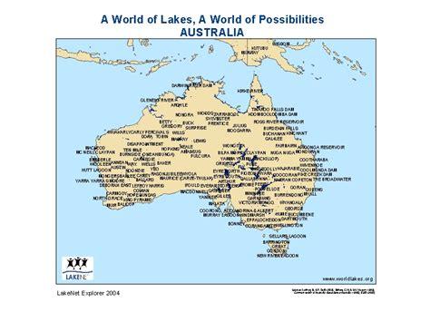 when is in australia lakes of australia