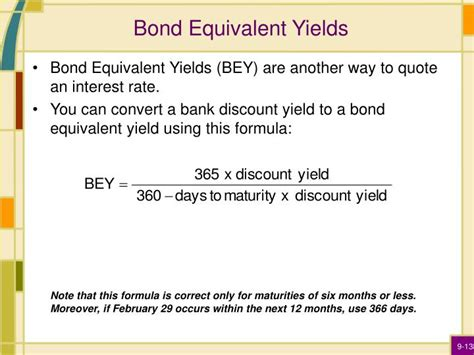 Bond Equivalent Yield Mba by Ppt Interest Rates Powerpoint Presentation Id 6681440