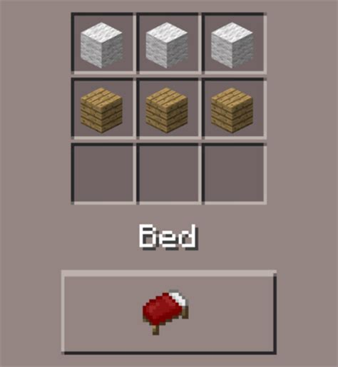 bed minecraft pocket edition canteach