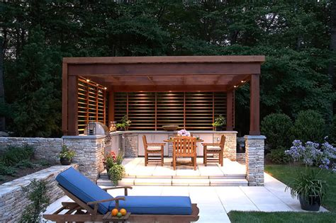 pavillon modern outdoor pool pavilion modern new york by curtis