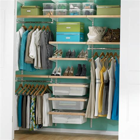 The Closet Organizer Birch White Elfa D 233 Cor Chic Reach In Closet