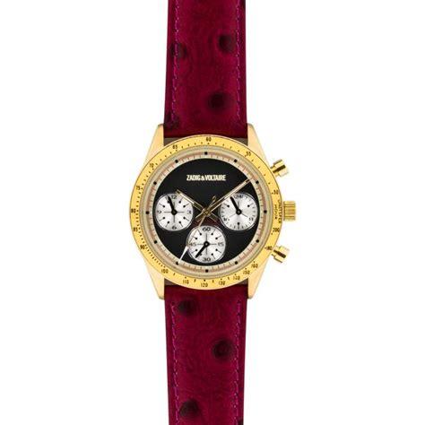 montre zadig et voltaire master zvm105 montre cuir femme sur bijourama montre femme