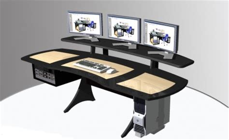 Media Workstation Desk by Editing Desk 171 Mw Systems Mw Systems