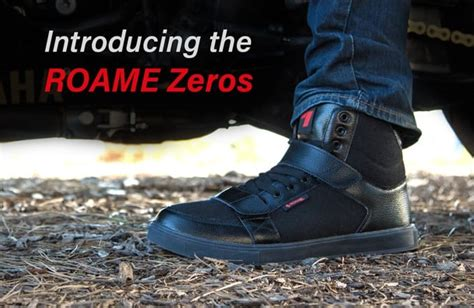 motorcycle shoes with lights roame zeros wireless blinker brake motorcycle shoe indiegogo