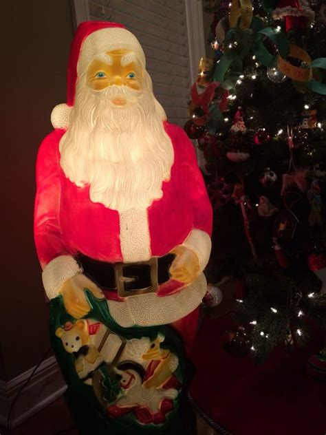 4 foot santas my vintage find awesome 4 foot mold santa yelp