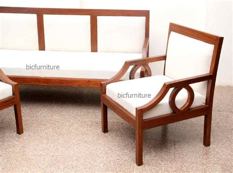 sofa set made of wood inspiring sleek wooden sofa designs images best idea